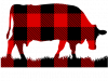 Plaid Cow
